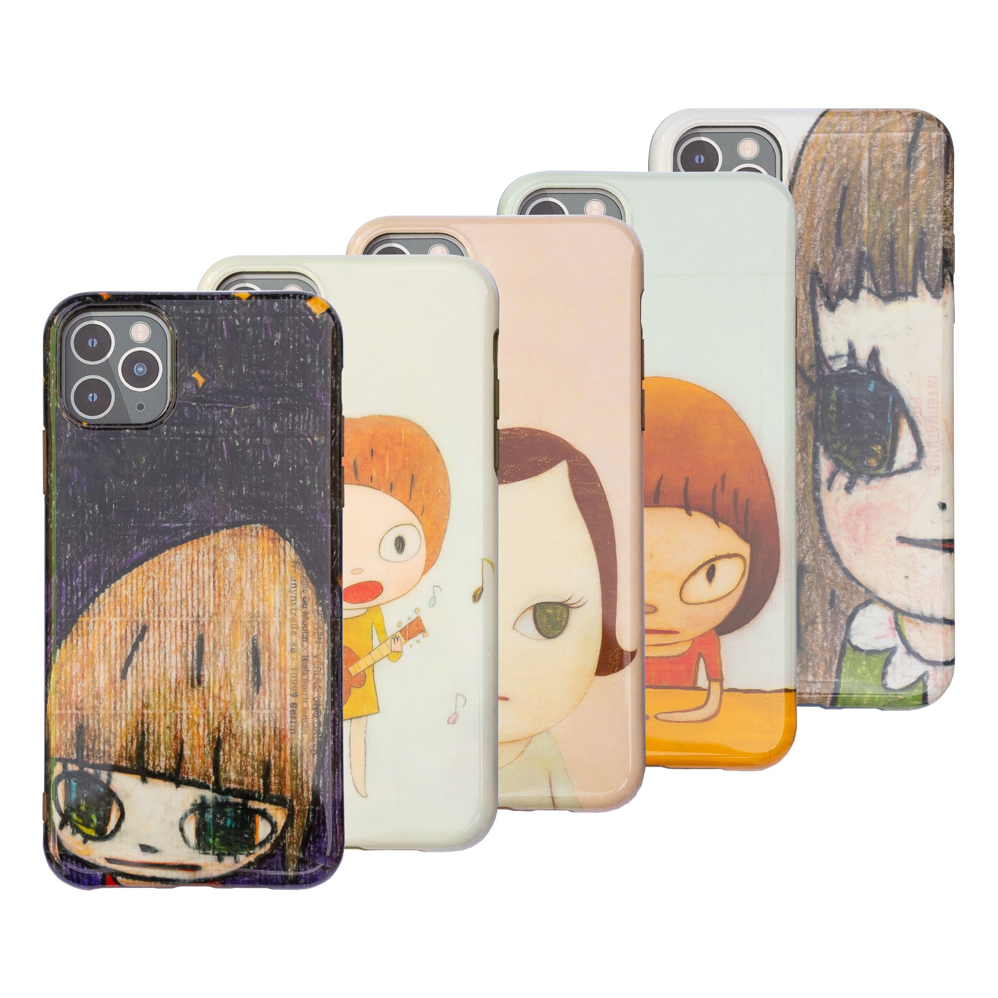Yoshitomo Nara 2020 mobile case for iPhone 11 Pro Max, Full Set