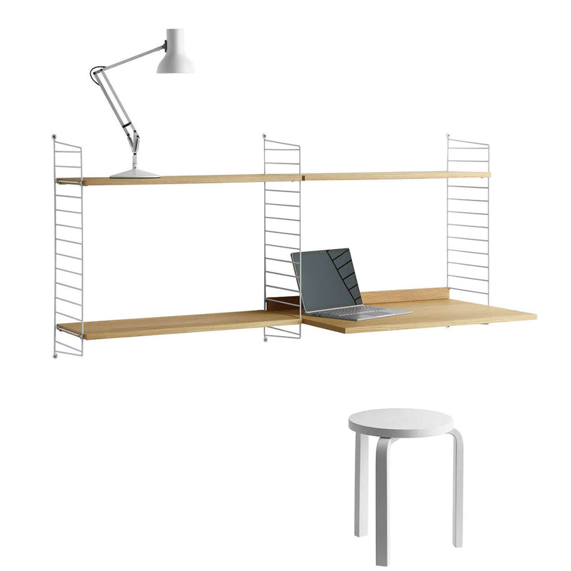 String Shelving System Colleague Desk