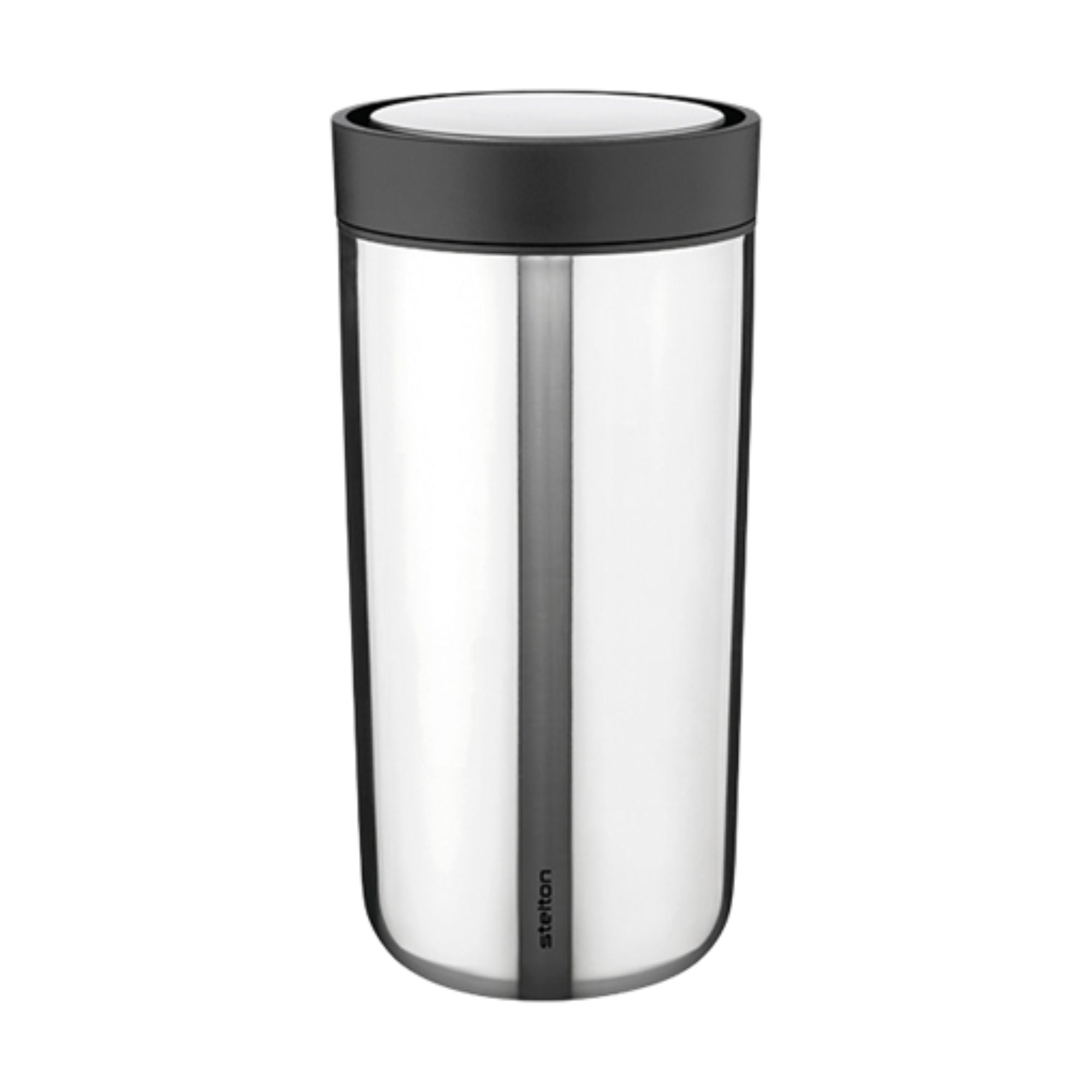 Stelton To-Go-Click mug, steel (500 ml)