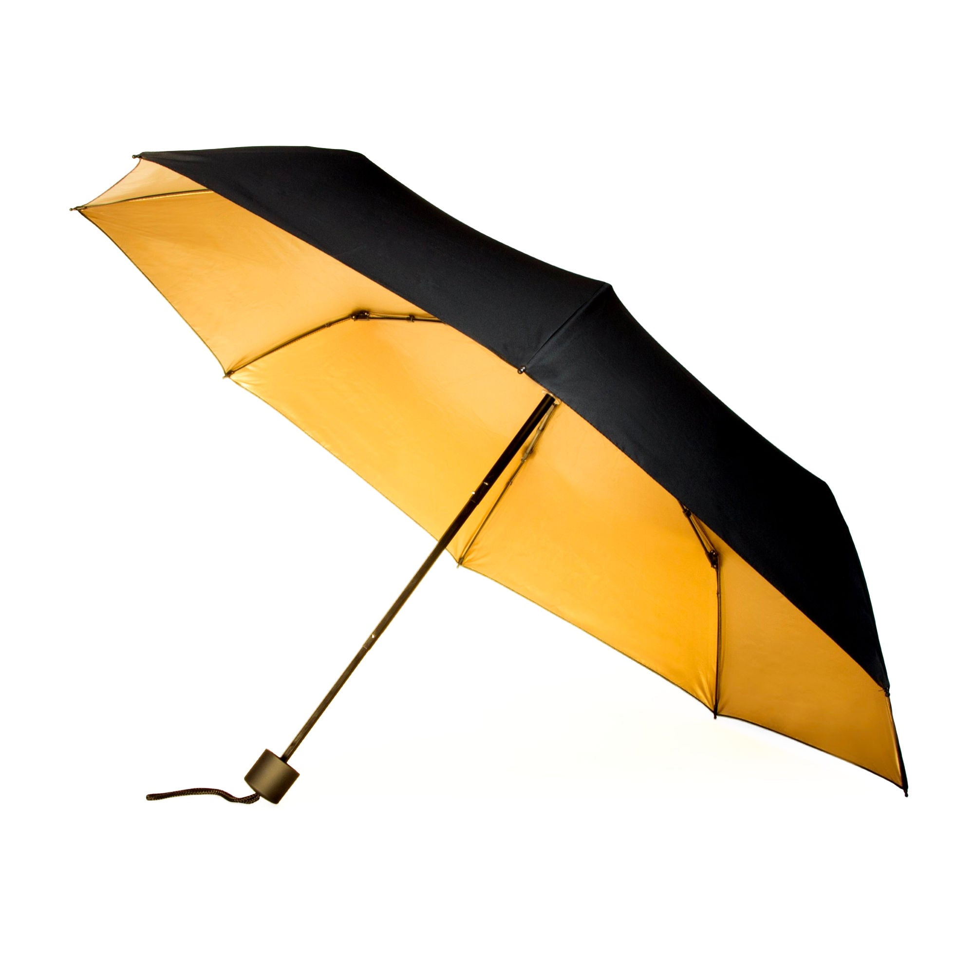 Suck UK Black & Gold Umbrella