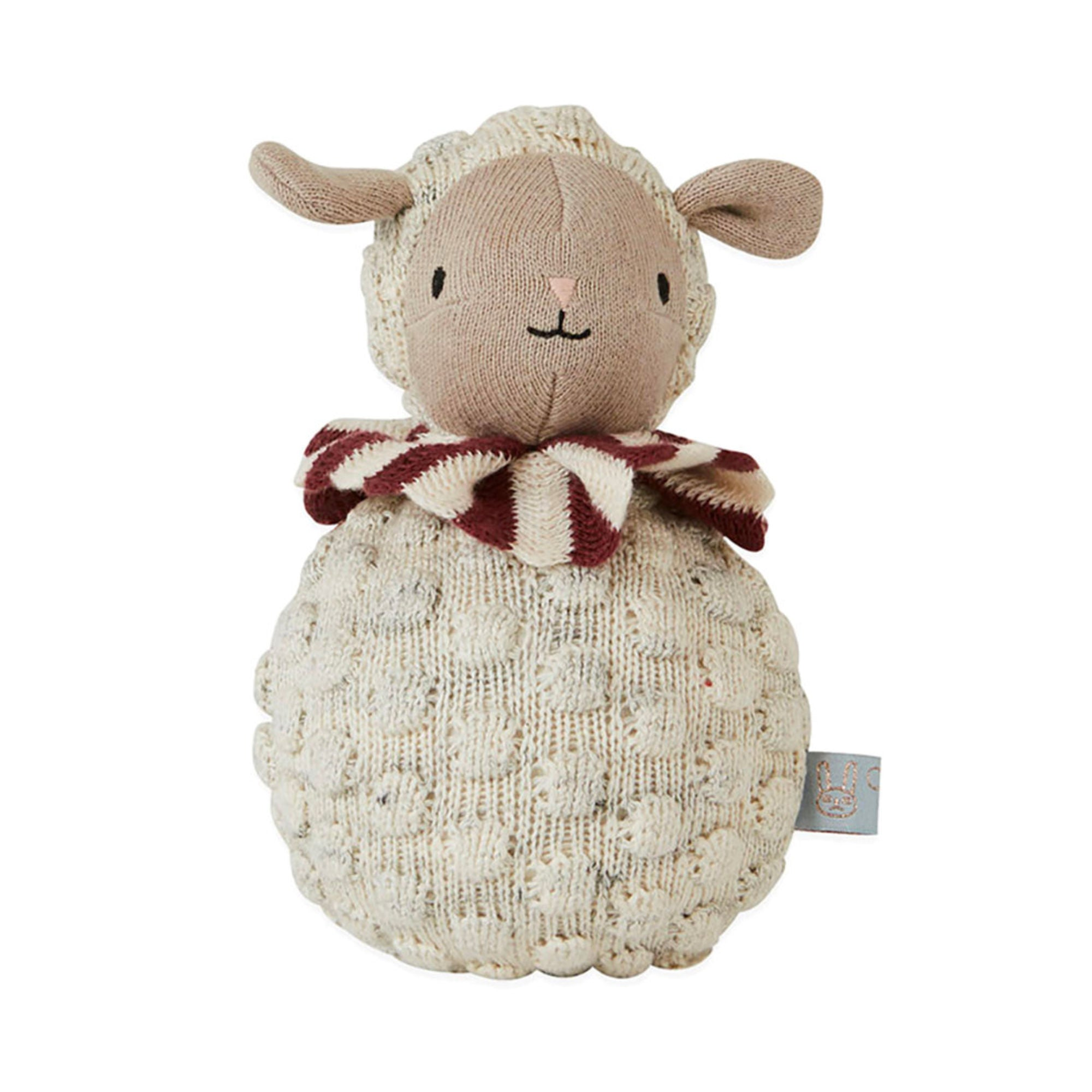 OYOY Roly Poly sheep stuffed animal
