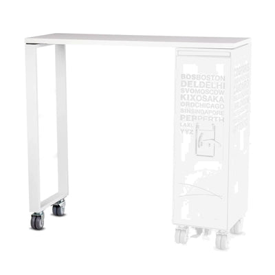 Bordbar High Table Add-On , Silver