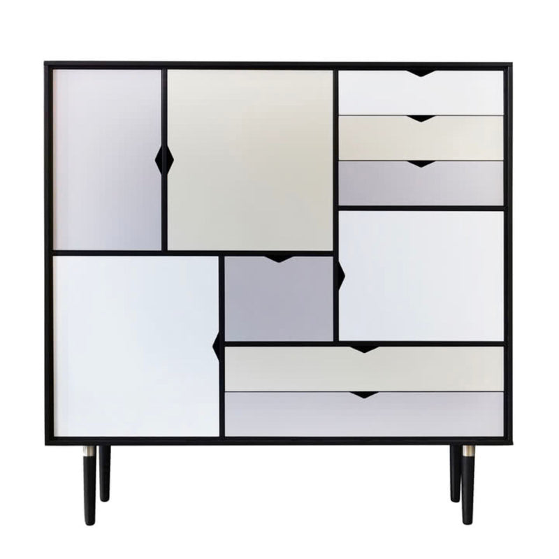 Andersen S3 sideboard, black lacquered oak