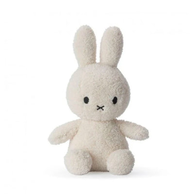 Miffy Sitting Terry Soft Toy 23cm , Cream