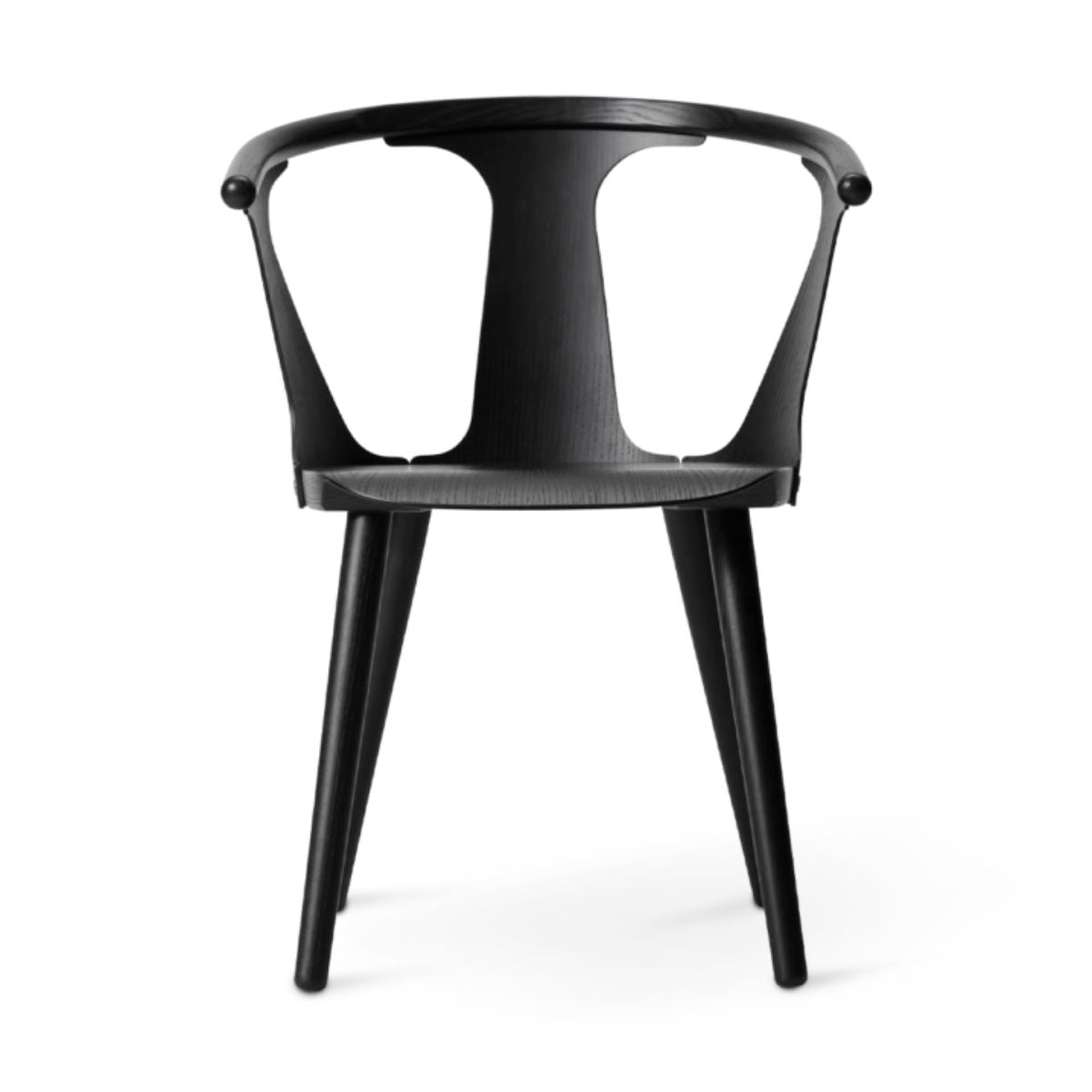 &Tradition In Between SK1 chair, black stained oak