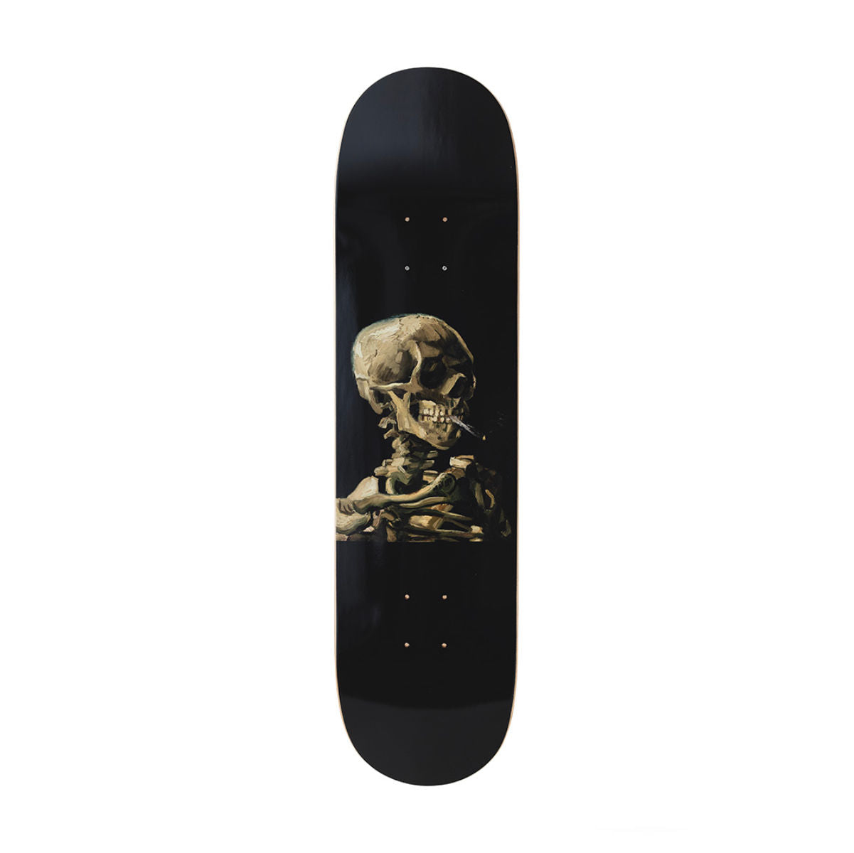 The Skateroom skateboard, VVincent Van Gogh Skull Of A Skeleton With Burning Cigarette