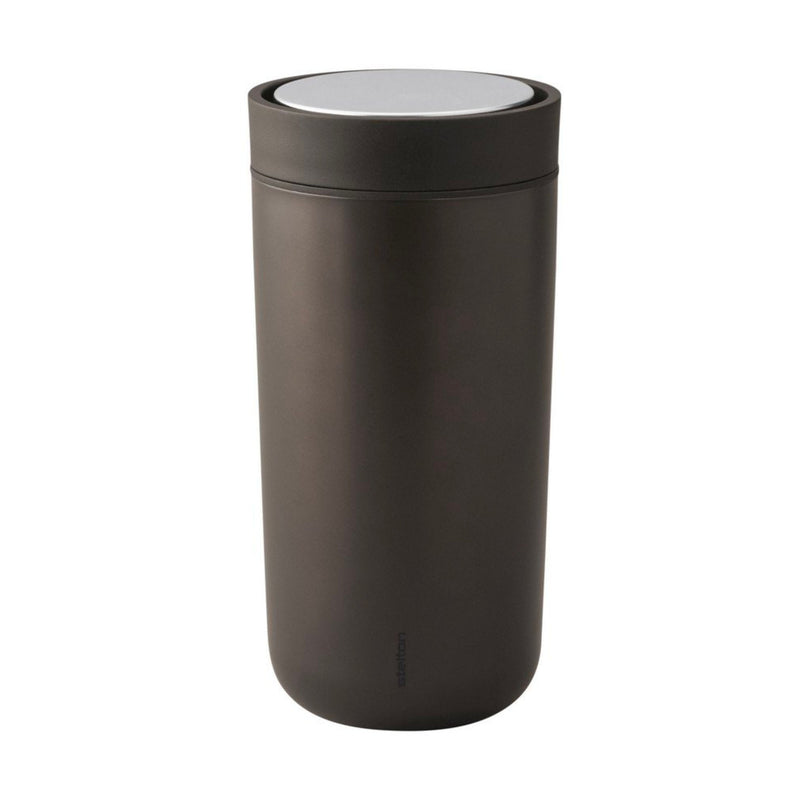 Stelton To Go Click Mug 340ml , Metallic Brown