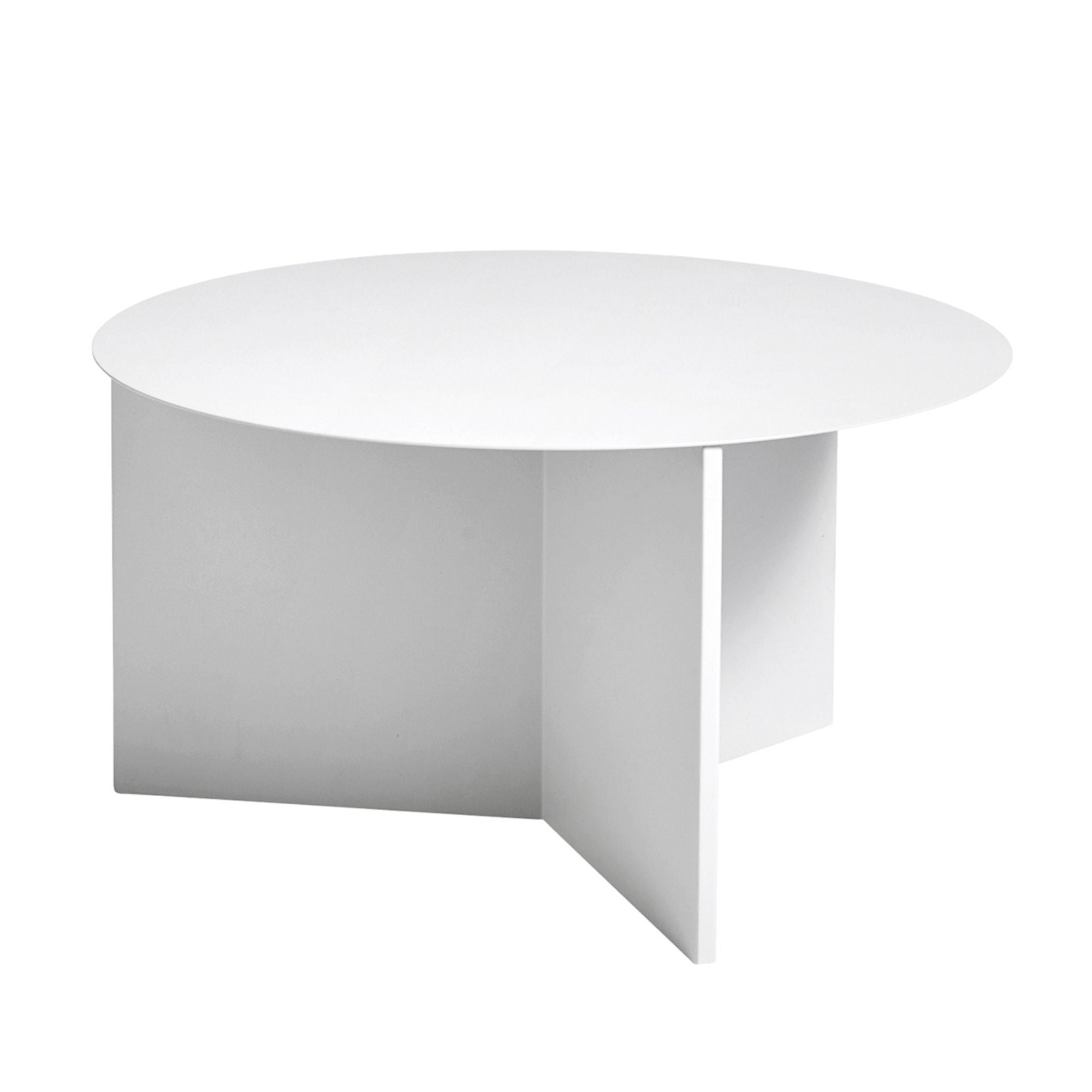 Hay Slit Coffee Table Round XL Φ65 , White