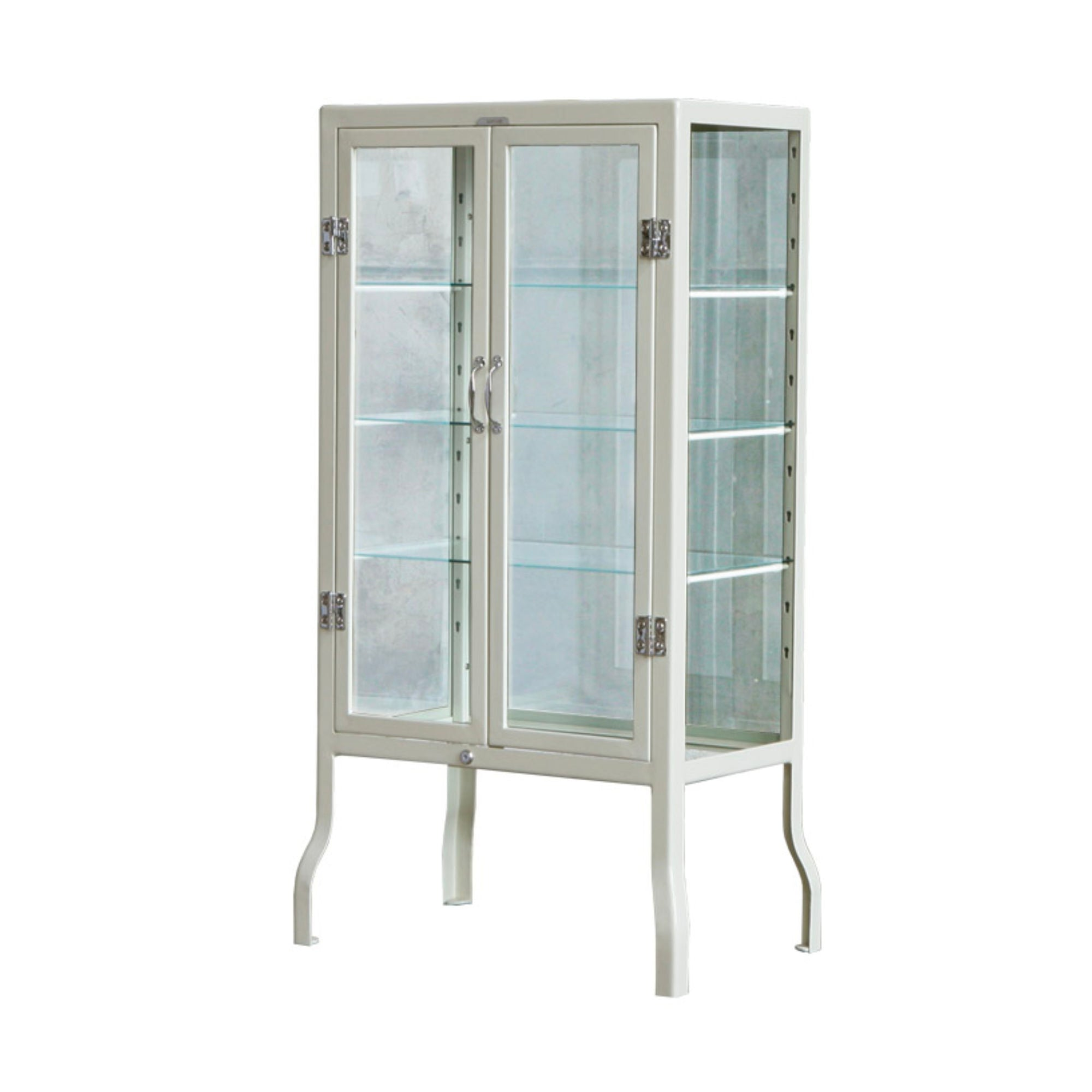 Dulton Doctor cabinet, small, ivory