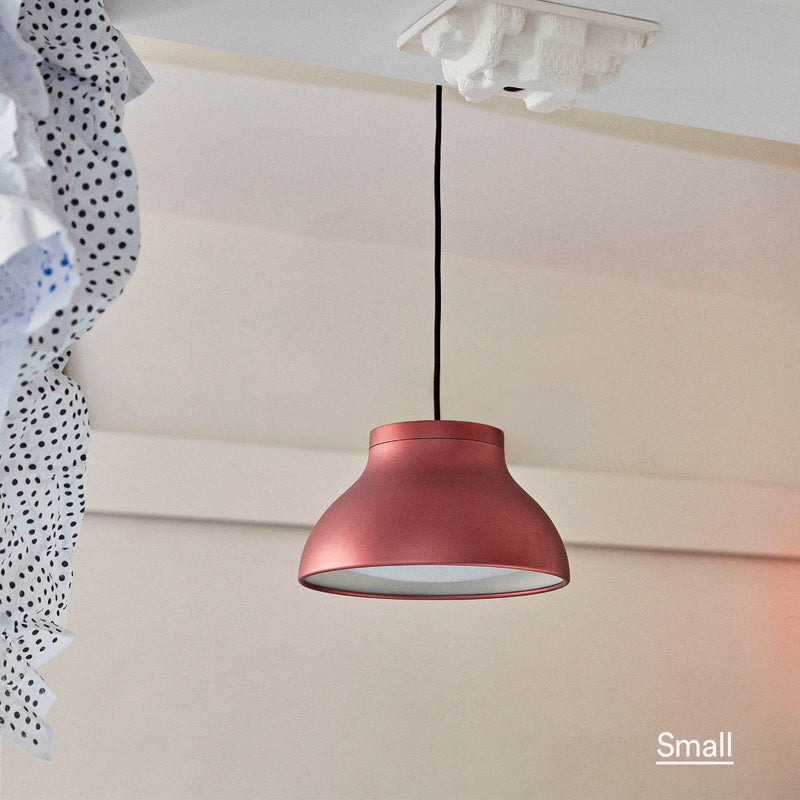 Hay PC pendant lamp, blush red