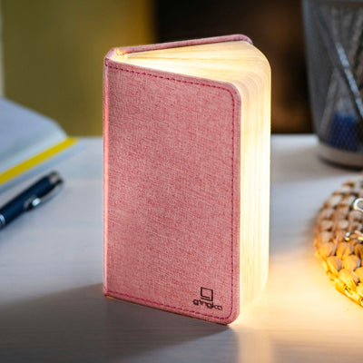 Gingko Smart booklight mini , linen pink