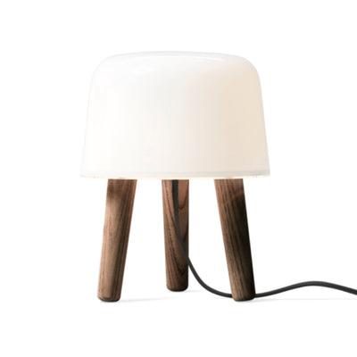 &Tradition NA1 Milk Table Lamp , Smoked Oiled Ash