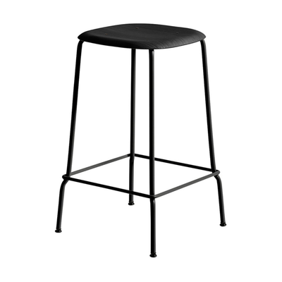 HAY Soft Edge 30 bar stool 65cm black