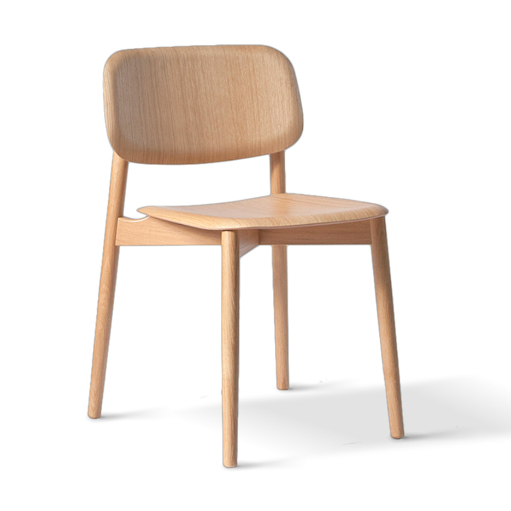 Hay Soft Edge 12 chair, matt lacquered oak