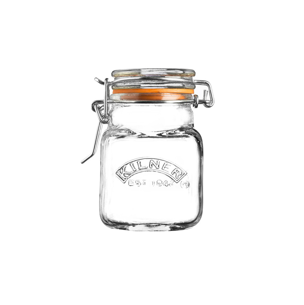 Kilner Square Clip Top Spice Jar 70ml