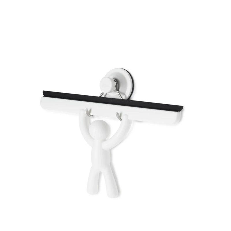 Umbra Buddy mirror squeegee, white