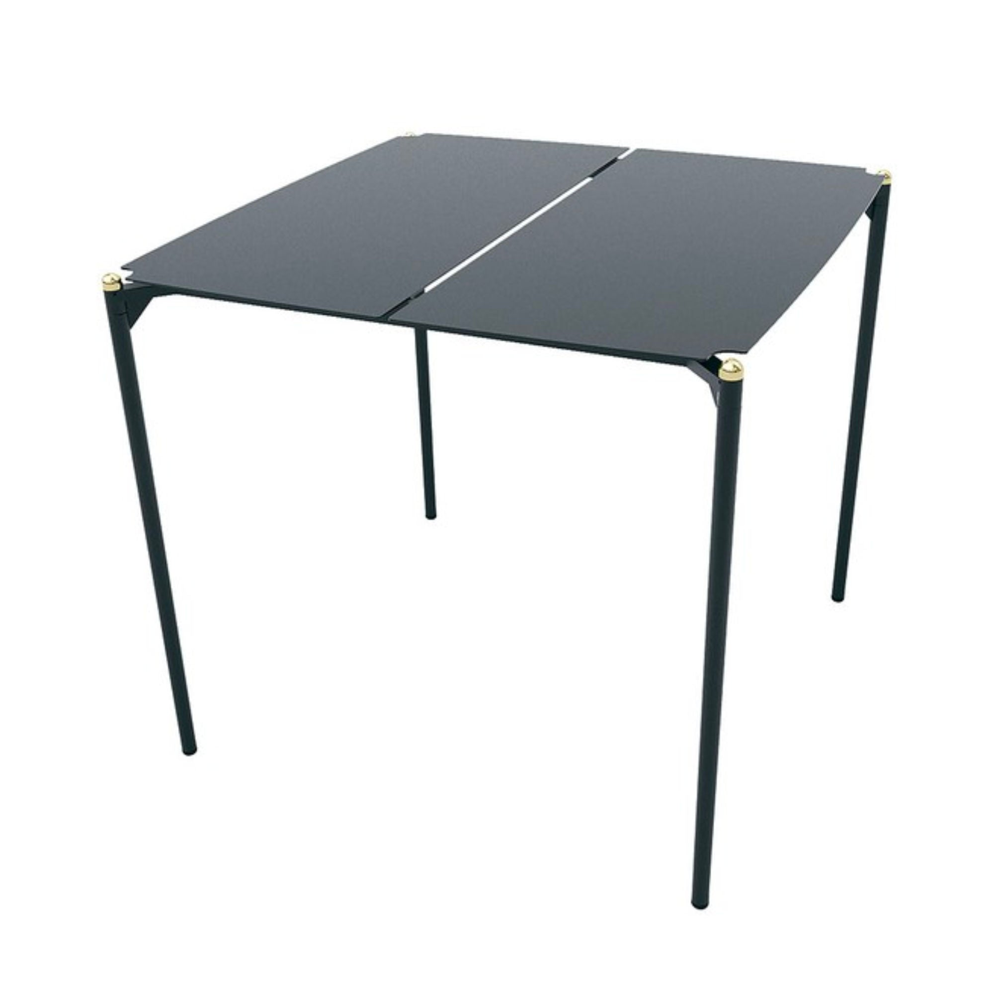 Aytm Novo Outdoor Dining Table Square , black - gold