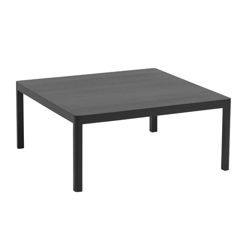 Muuto Workshop coffee table, square, black