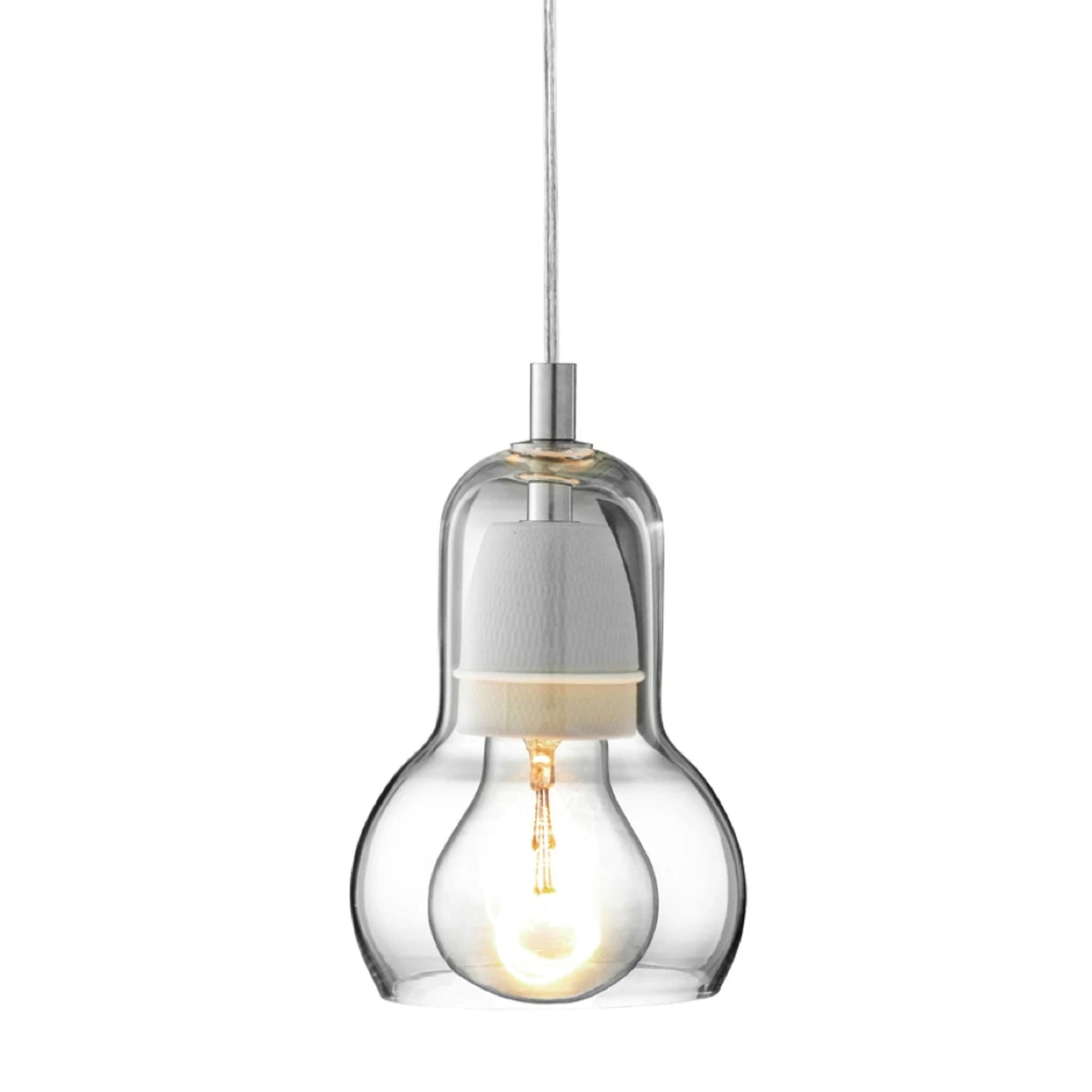 &Tradition Bulb SR1 pendant lamp, clear cord