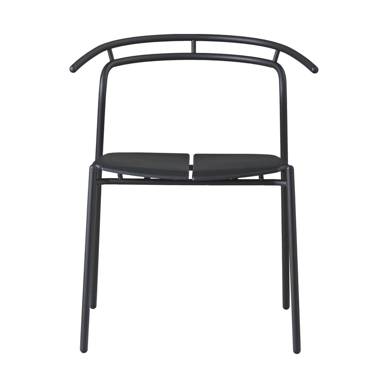 AYTM NOVO dining chair , black - black