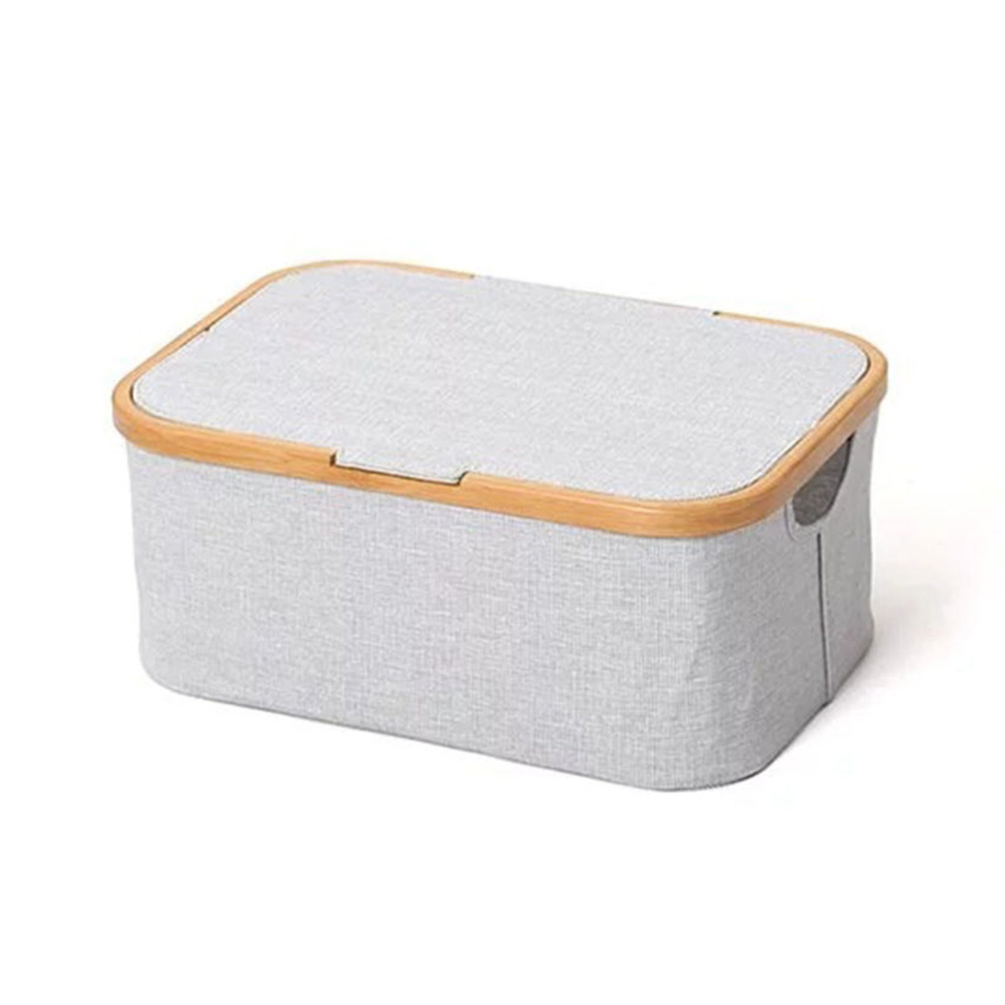 Gudee Akore storage box with lid, retangular