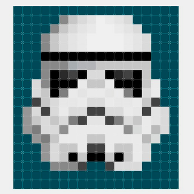Star Wars Stormtrooper . pixel
