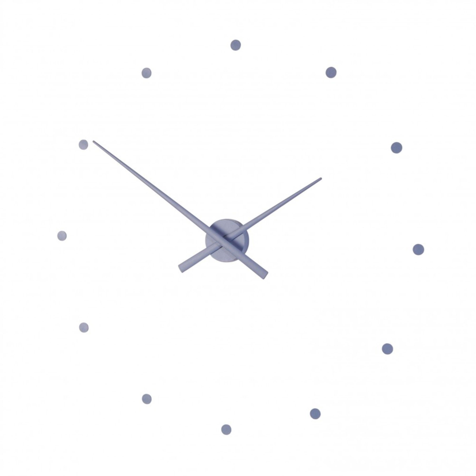 Nomon OJ Wall Clock , Steel Blue