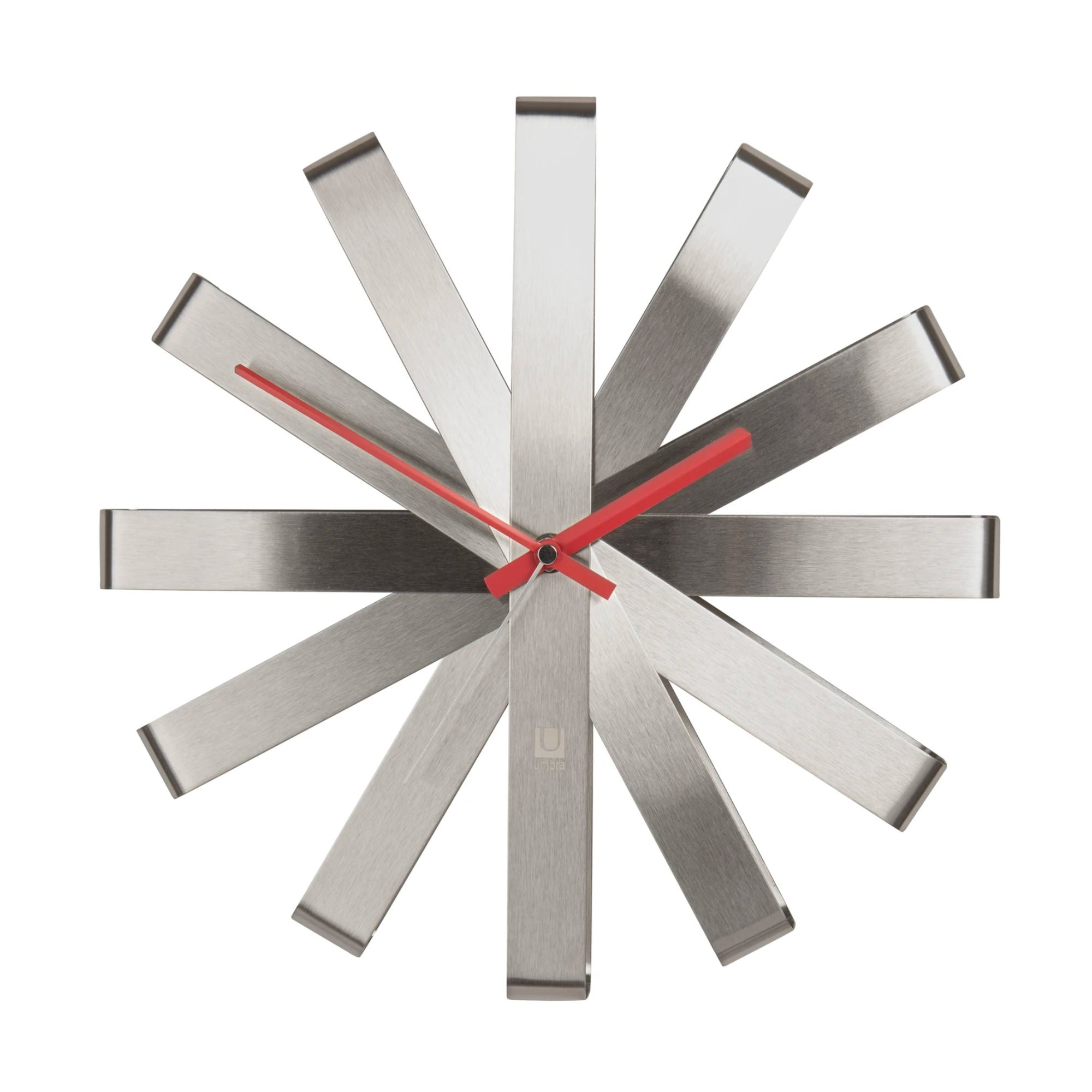 Umbra Ribbon Wall Clock , Steel