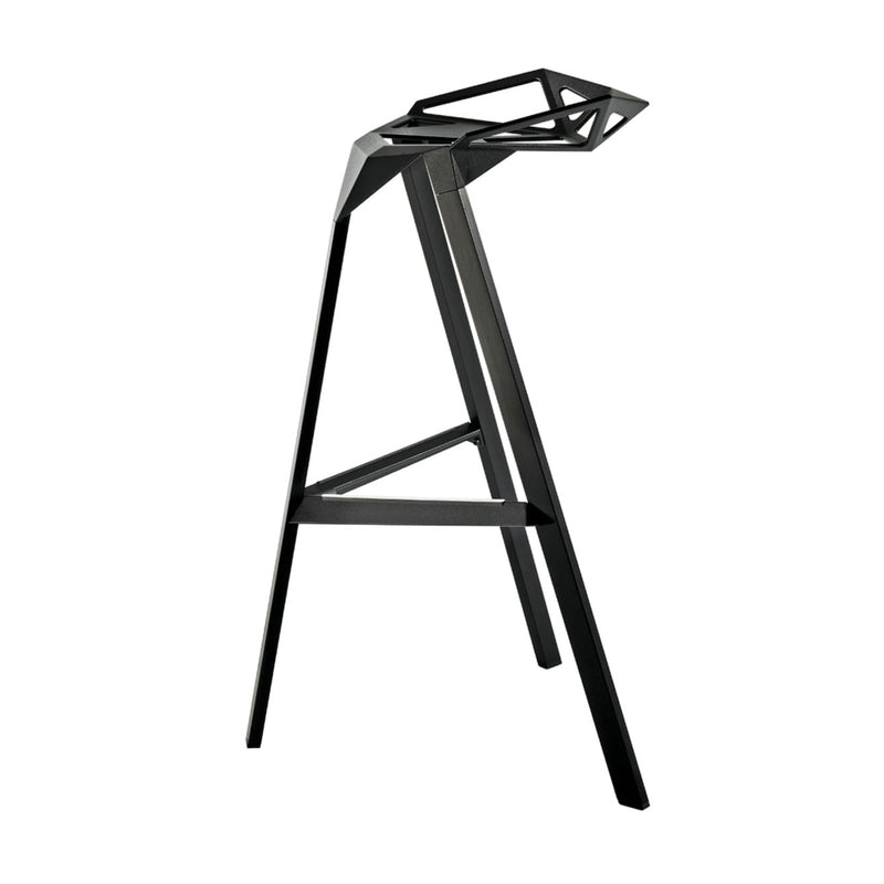Magis Stool One 77cm , Anodised Black