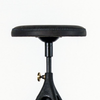 District Eight Akron Counter Stool With Leather Seat