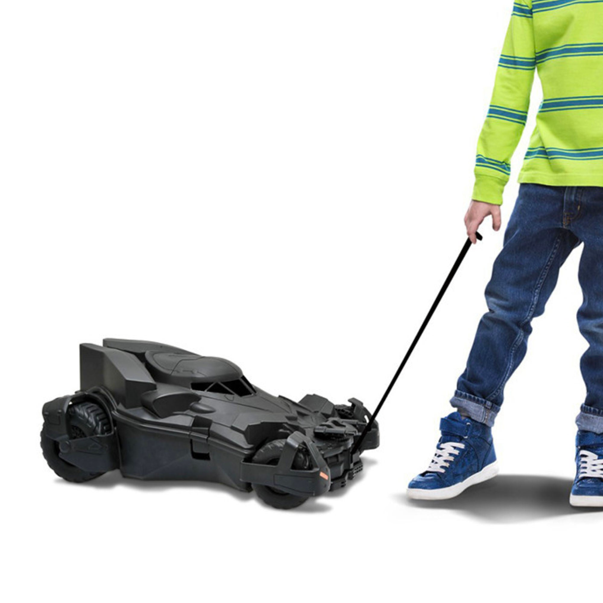 Welly Kids Pull-Along Case Batmobile