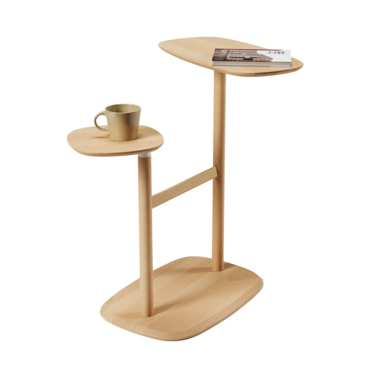 Umbra Swivo side table, beech