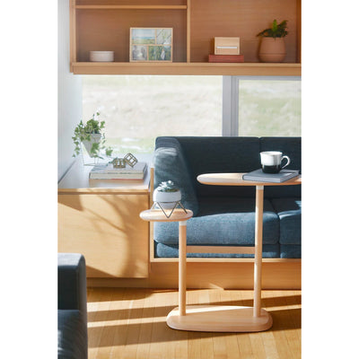 Umbra Swivo Side Table , Beech