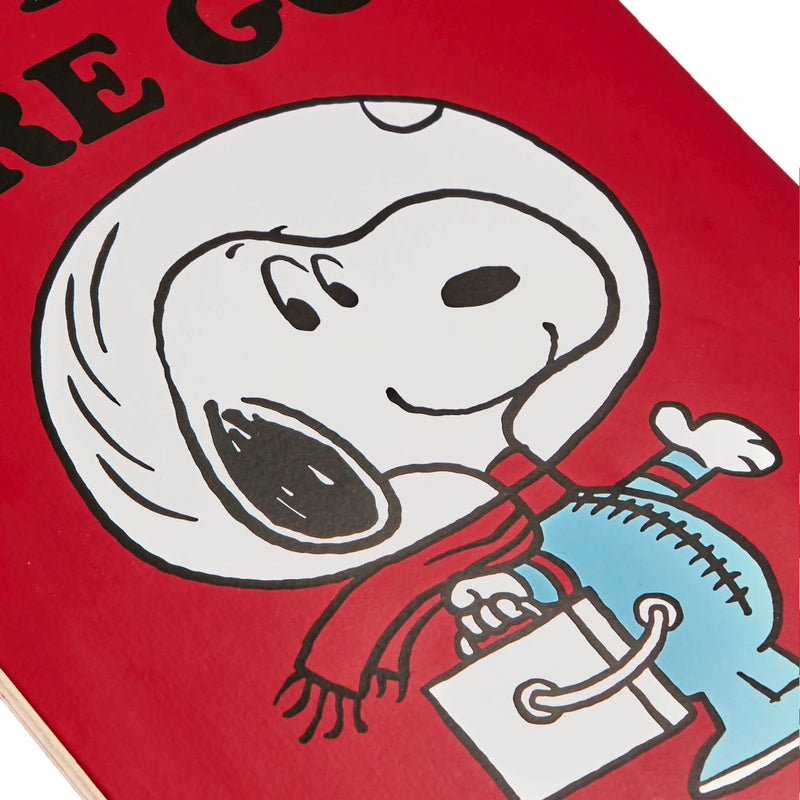 The Skateroom skateboard, Peanuts By Charles M. Schulz All Systems Are Go!