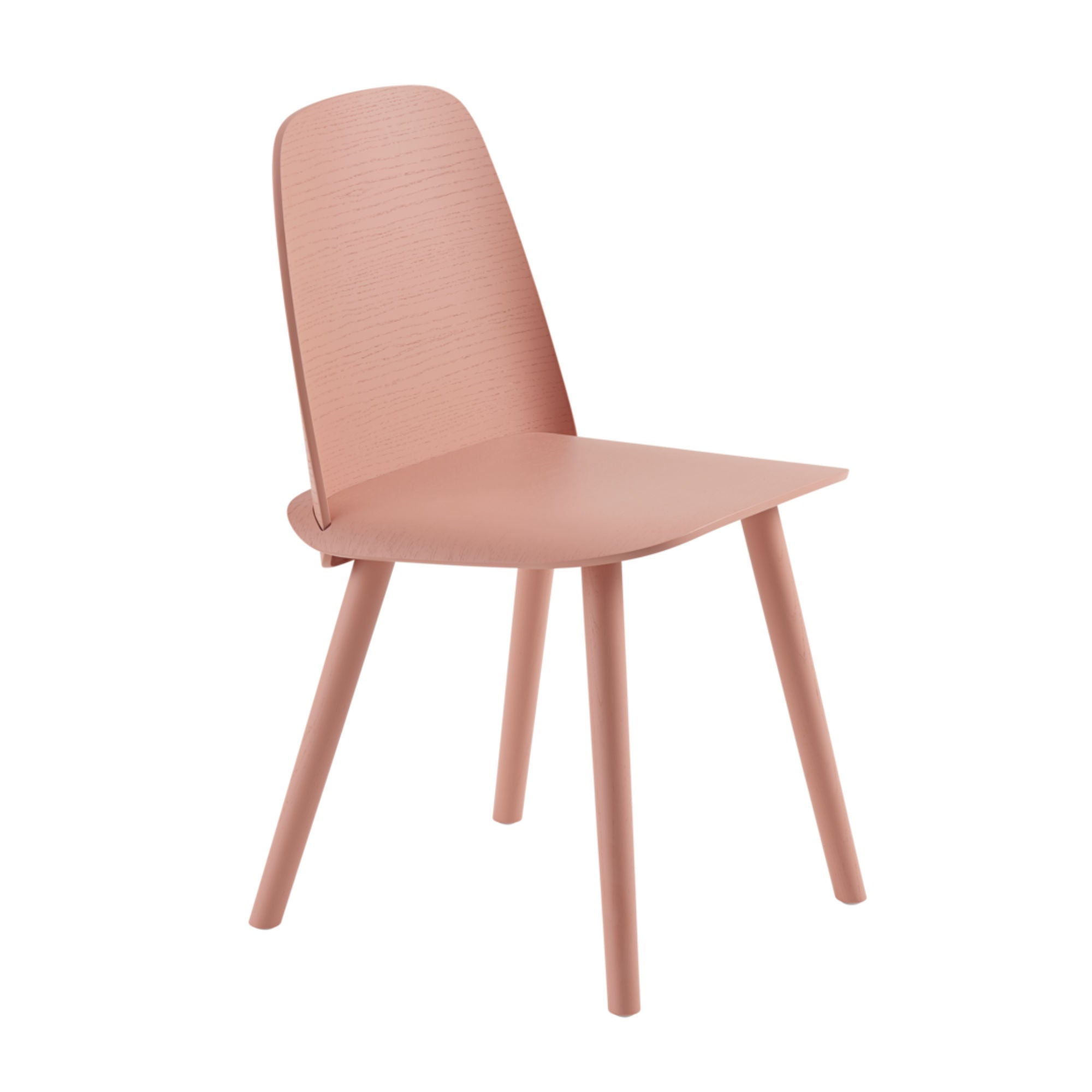 Muuto Nerd Chair , Tan Rose