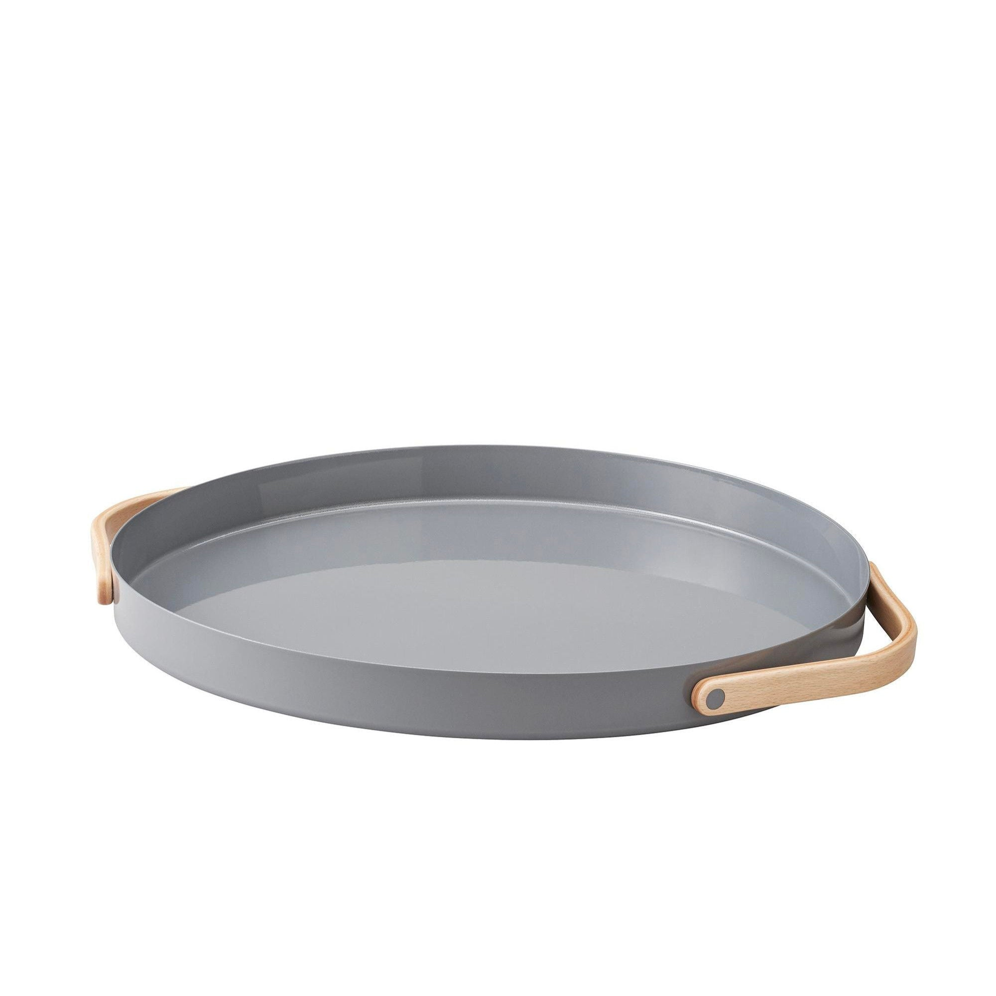 Stelton Emma Serving Tray Round , Grey