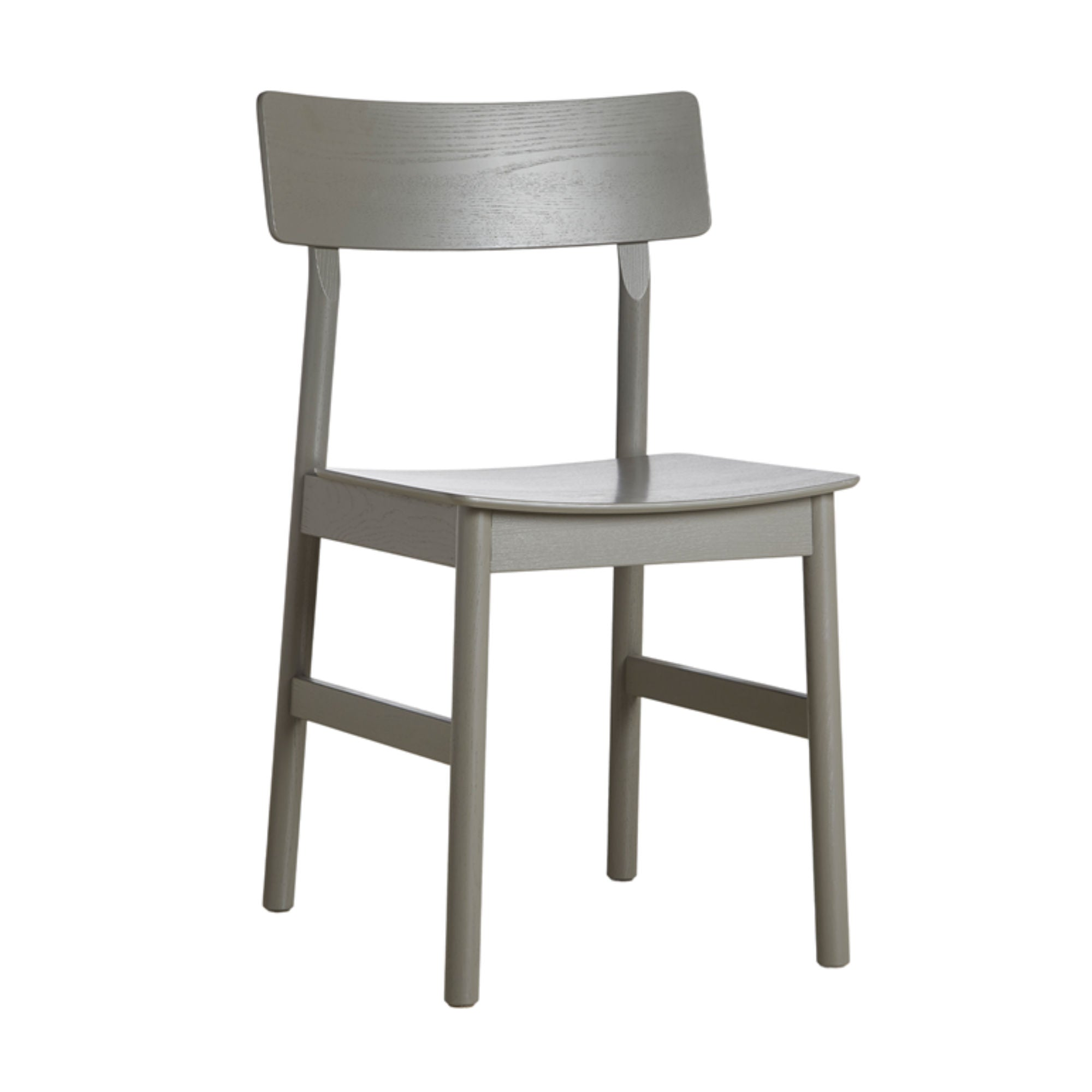 Woud Pause Dining Chair , Taupe Painted Ash