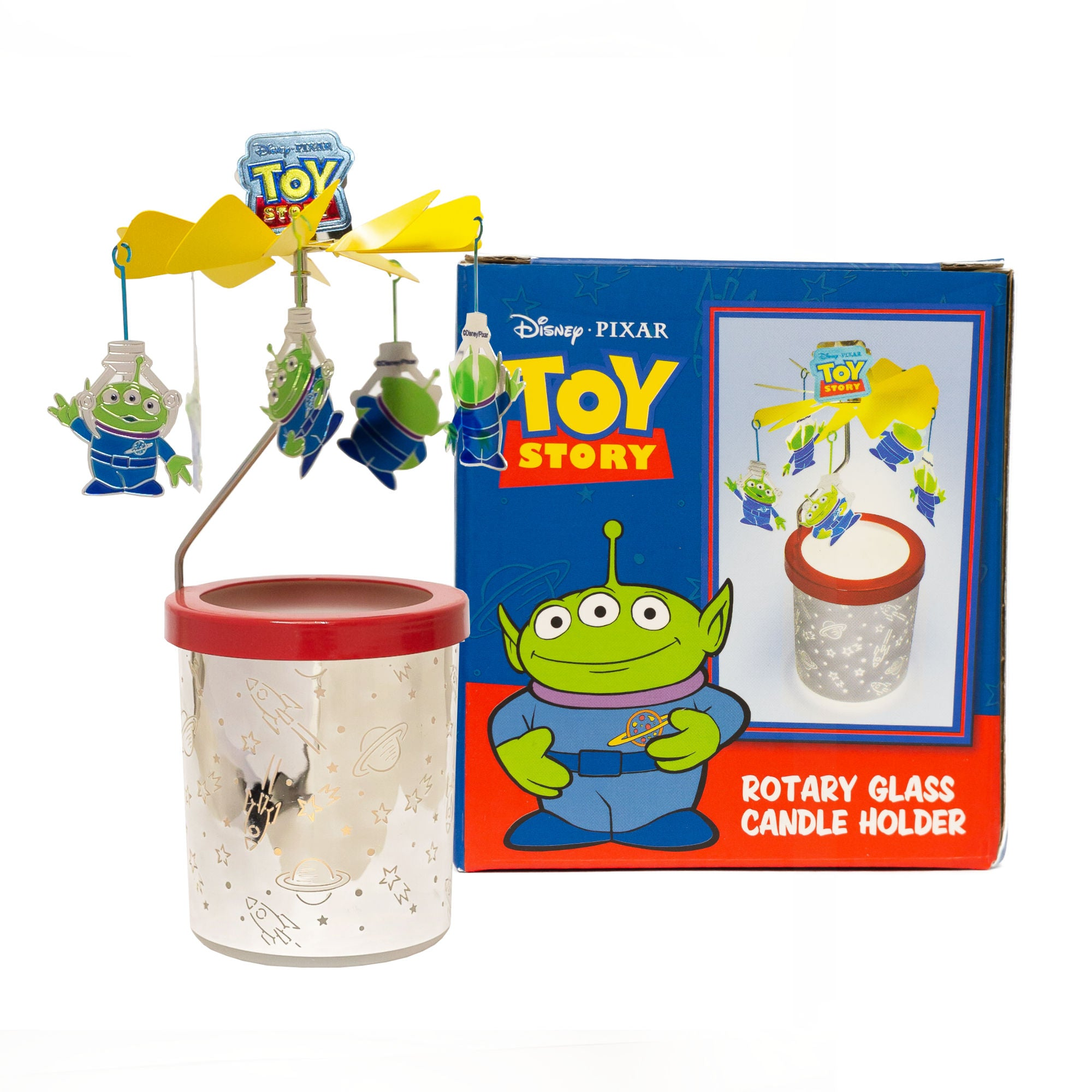 Toy Story Alien Rotary Candle Holder Large