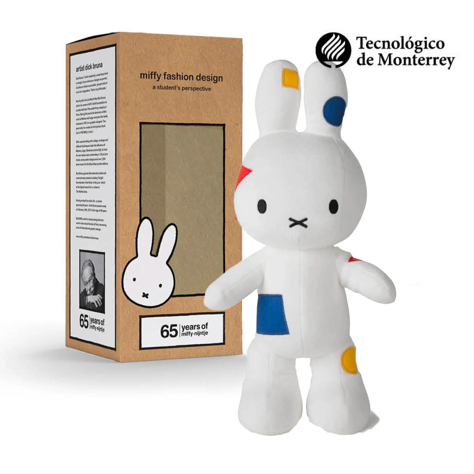 65 Years Limited Edition | Miffy Fashion Design plush doll 34cm , Elementary