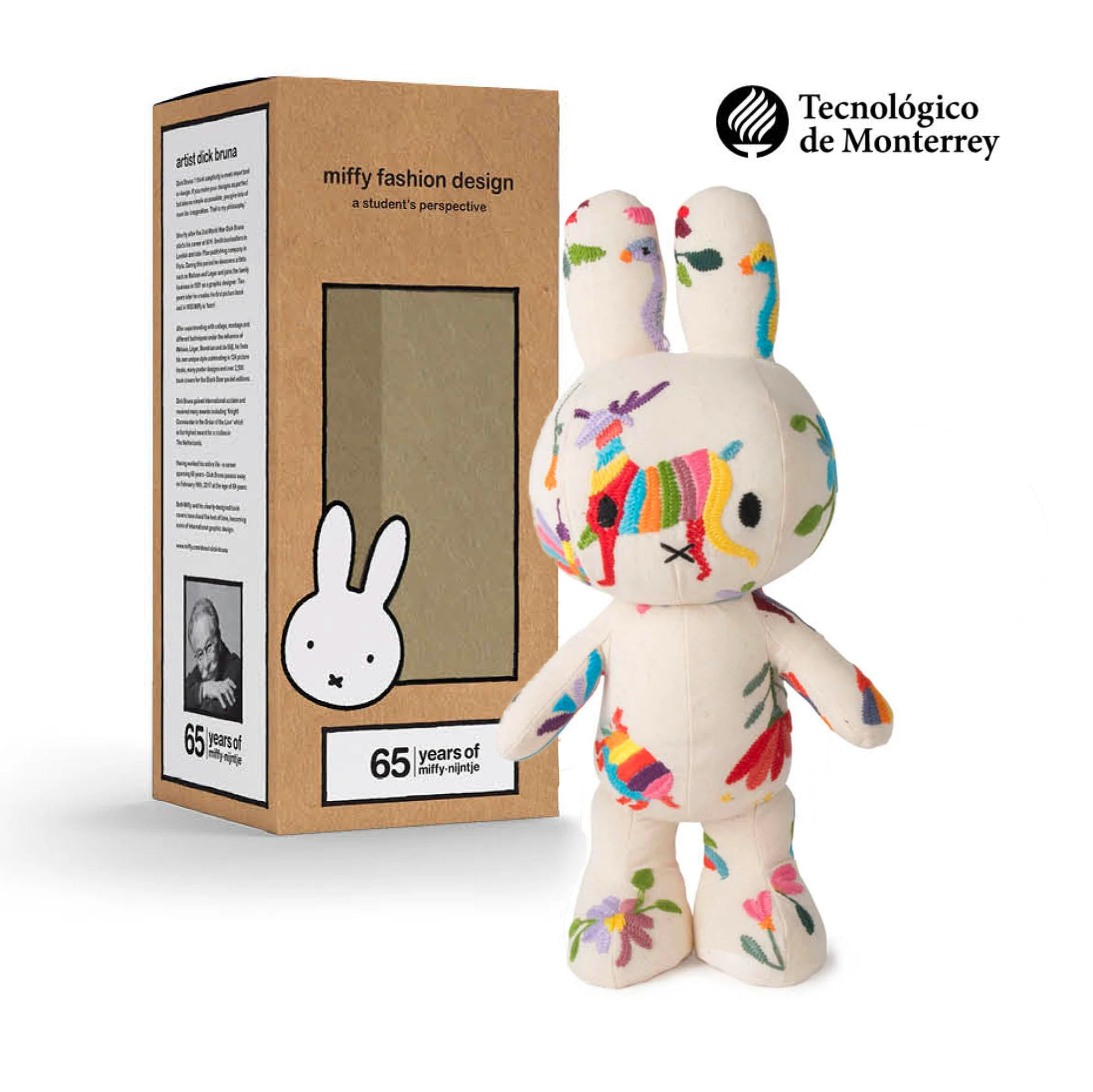 65 Years Limited Edition | Miffy Fashion Design plush doll 34cm , Tenango