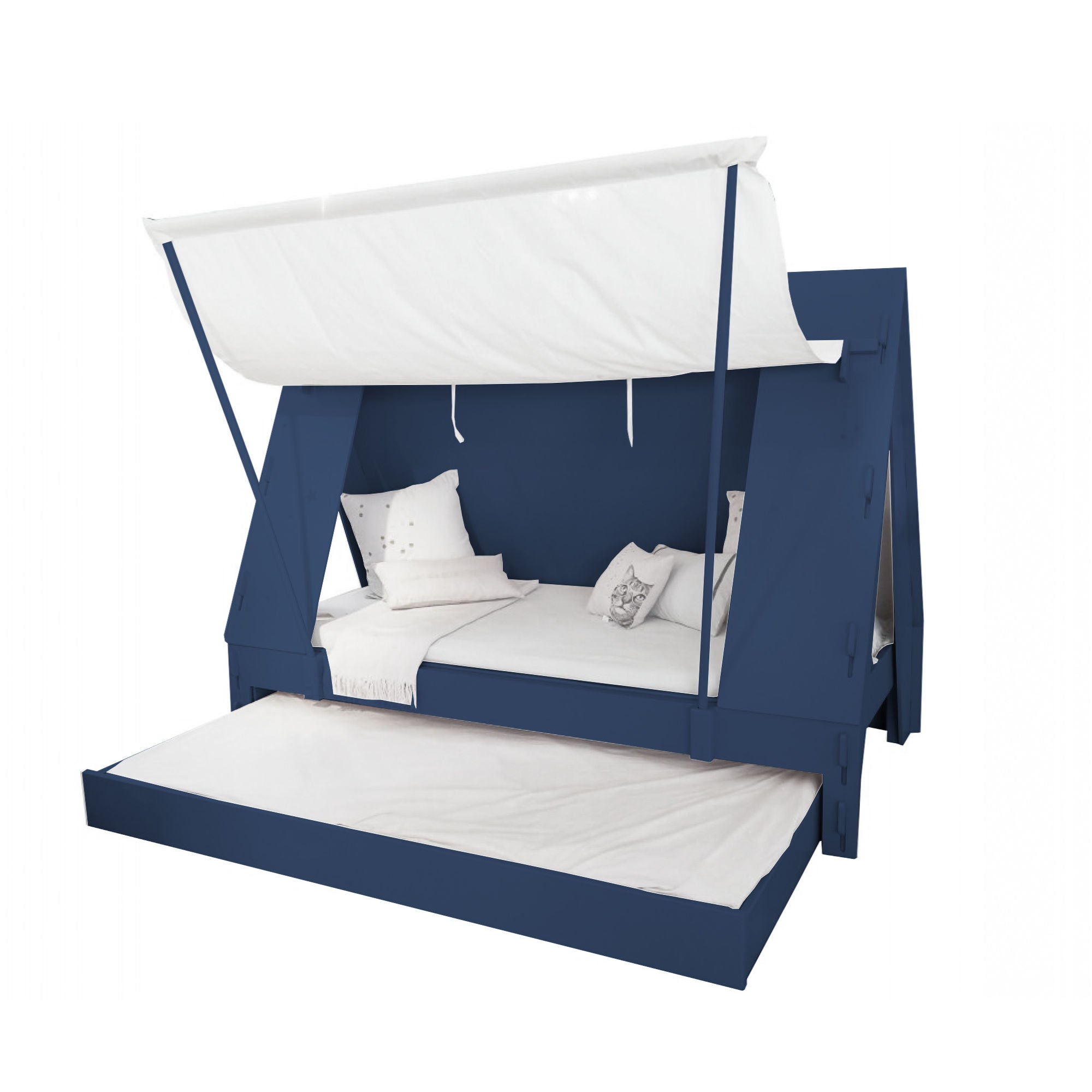 Mathy By Bols TENT Pull-Out Bed , Atlantic Blue