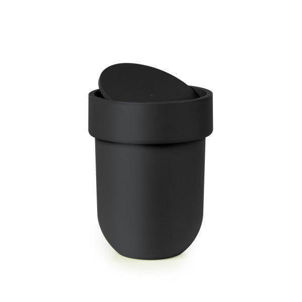 Umbra Touch waste can with lid, 6 litre