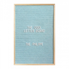 The Cool Company The Philippe Letter Board . 46 x 31