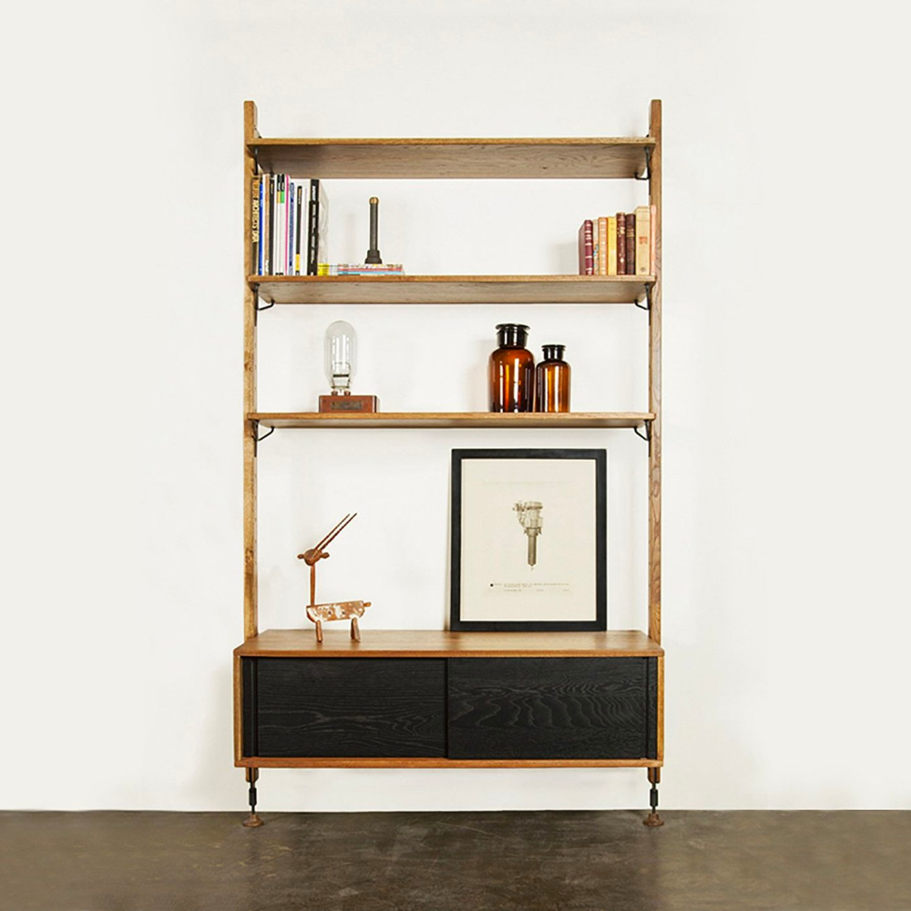 District 8 Theo Wall Unit with Cabinet