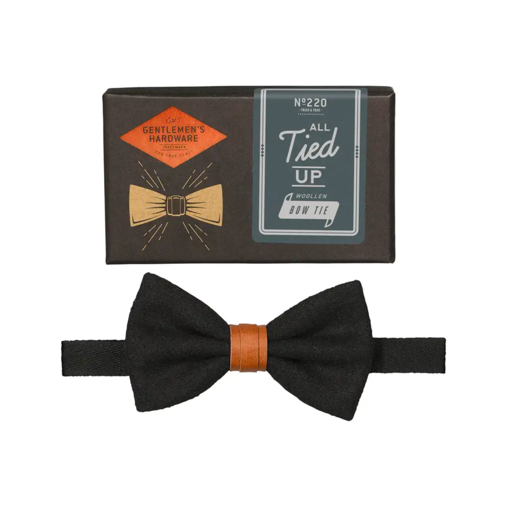 Gentlemen's Hardware All Tied Up Wollen Bow Tie