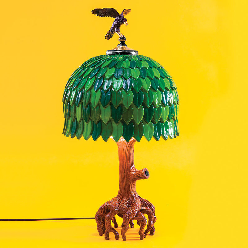 Seletti Tiffany Tree Lamp
