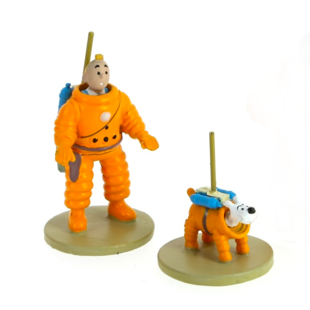 Tintin Cosmonaut Model