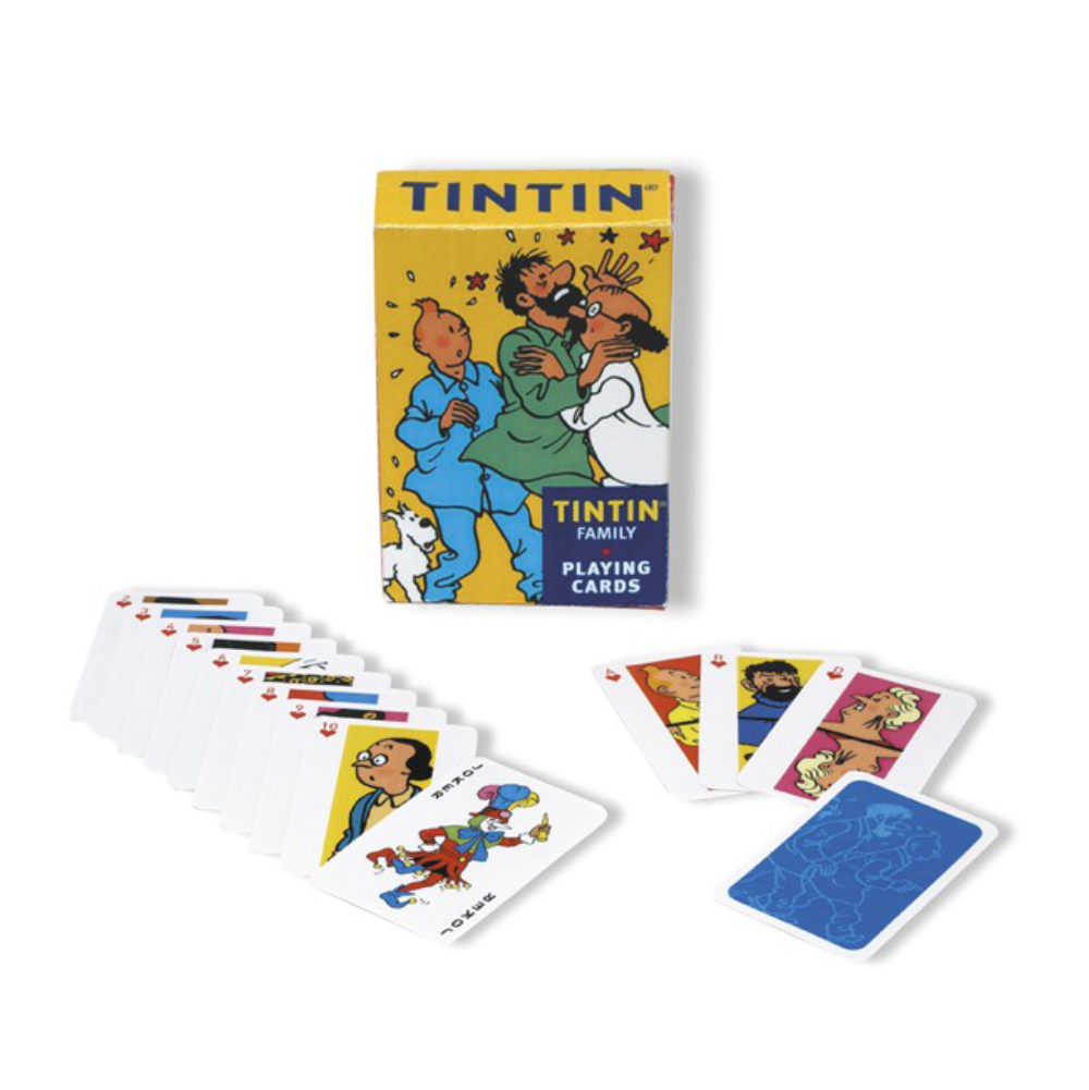 Tintin Playing Cards