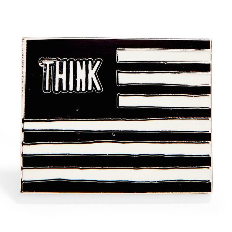 MoMA William Copley: Untitled from Protest against the War in Vietnam Enamel Pin