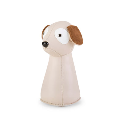 Zuny Classic Titan Dog paperweight, wheat - white